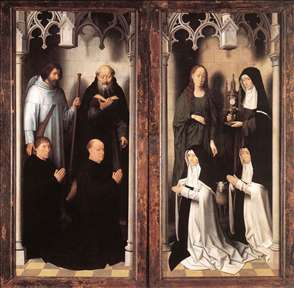 St John Altarpiece (closed)