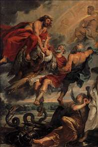 The Apotheosis of Henry IV and the Proclamation of the Regency of Marie de Medicis on May 14, 1610