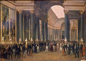 Louis-Philippe Opening the Galerie des Batailles, 10 June 1837