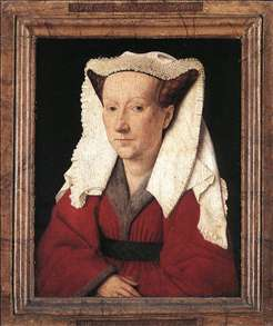 Portrait of Margareta van Eyck