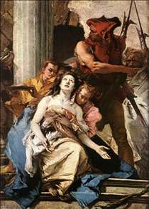 The Martyrdom of St Agatha