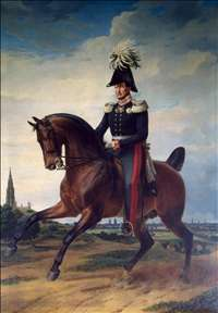 Equestrian Portrait of Frederick William III