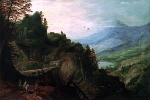 Landscape with a Mountain Pass