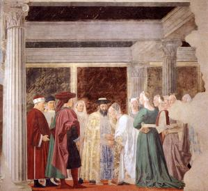 2b. Meeting between the Queen of Sheba and King Solomon