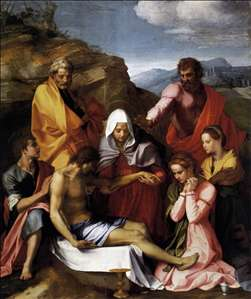 Pietà with Saints