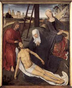 Triptych of Adriaan Reins (central panel)