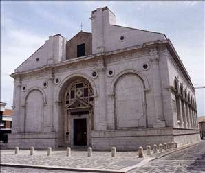 Exterior of Tempio Malatestiana