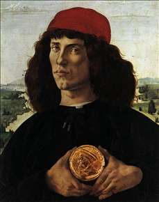 Portrait of a Man with a Medal of Cosimo the Elder
