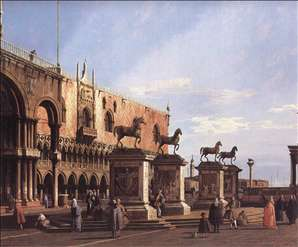 Capriccio: The Horses of San Marco in the Piazzetta