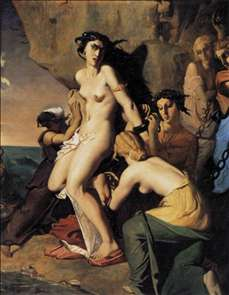 Andromeda and the Nereids
