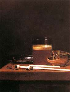 Still-Life with a Mug of Beer