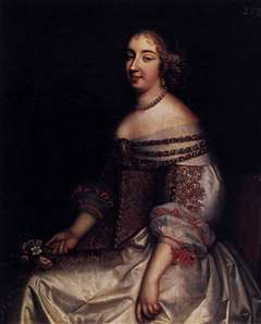 Portrait of Mademoiselle de Montpensier