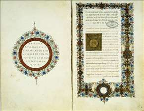 Page from Marsilio Ficino's Letters