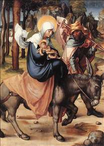 The Seven Sorrows of the Virgin: The Flight into Egypt
