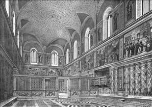 Reconstruction of the interior
