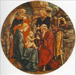 Adoration of the Magi (from the predella of the Roverella Polyptych)