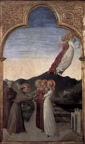 Marriage of St Francis to Lady Poverty