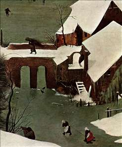 The Hunters in the Snow (detail)