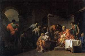 Belisarius Receiving Hospitality from a Peasant Who Had Served under Him