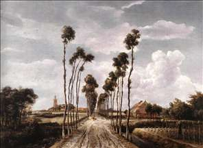 The Alley at Middelharnis