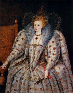 Portrait of Queen Elisabeth I