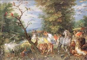 The Animals Entering the Ark
