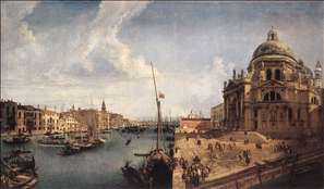 The Grand Canal near the Salute