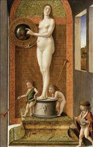 Four Allegories: Prudence (or Vanity)