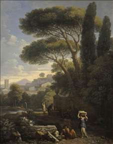 Landscape with a Fountain