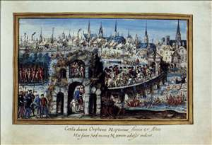 Entry of Henri to into Rouen
