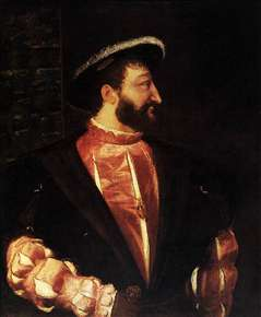 Portrait of Francis I