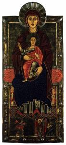 Virgin with Child Enthroned