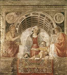 Madonna and Child with St John the Baptist and St John the Evangelist