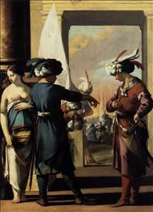 Cyrus Announcing to Araspas that Panthea Has Obtained His Pardon