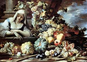 Still-Life with a Female Figure