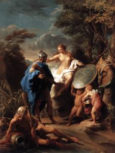 Venus Presenting Aeneas with Armour Forged by Vulcan
