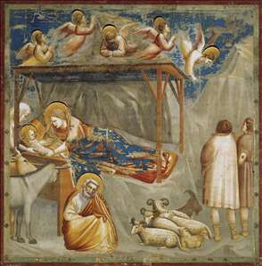 No. 17 Scenes from the Life of Christ: 1. Nativity: Birth of Jesus