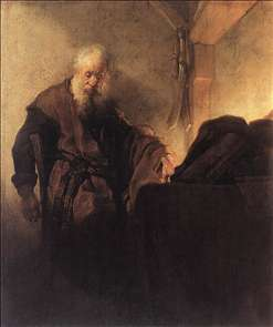 St Paul at his Writing-Desk