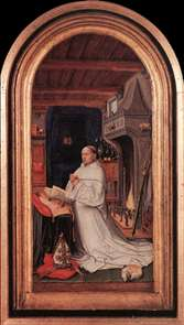 Portrait of Abbot Christiaan de Hondt