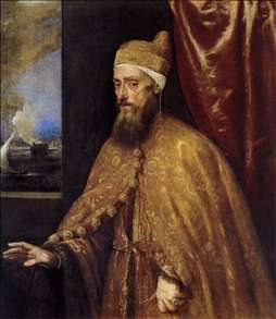 Portrait of the Doge Francesco Venier