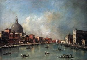The Canal Grande with San Simeone Piccolo