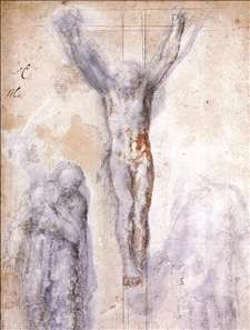 Christ Crucified between the Virgin and Nicodemus