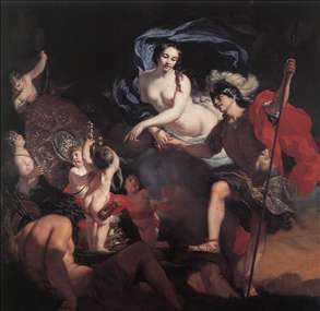 Venus Presenting Weapons to Aeneas