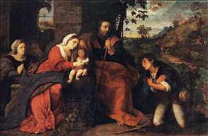 Adoration of the Shepherds with a Doonor