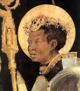 Meeting of St Erasm and St Maurice