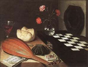 Still-life with Chessboard (The Five Senses)