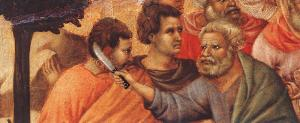 Christ Taken Prisoner (detail)