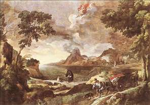 Landscape with St Augustine and the Mystery