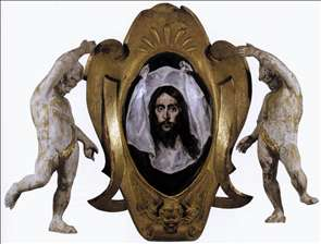 Escutcheon with St Veronica's Veil