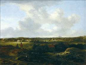 View of Haarlem from the Dunes